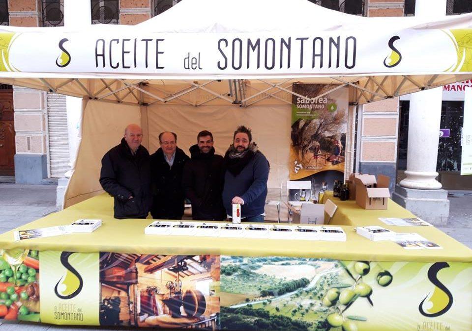 Promoción del Aceite de Oliva del Somontano
